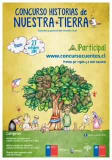 Educrea - Afiche Concurso Historias de Nuestra Tierra
