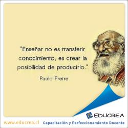 Reflexión Paulo Freire