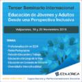 Cita internacional aborda inclusividad en Educación de Jóvenes y Adultos