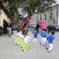 Niños y Niñas Danzan y Cantan Junto al Abedul Que Plantó Gabriela Mistral en Punta Arenas