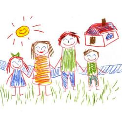 Dibujo-familia