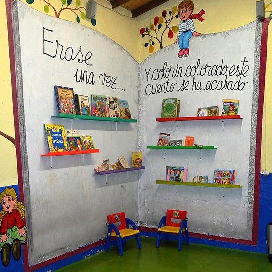 La biblioteca escolar: un lugar para la animación a la