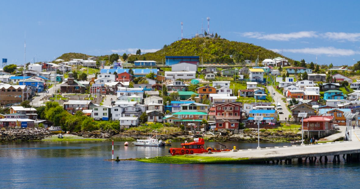 Resultado de imagen de Melinka, región de Aysén