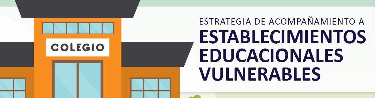 Estrategia de Acompañamiento a Establecimientos Educacionales Vulnerables