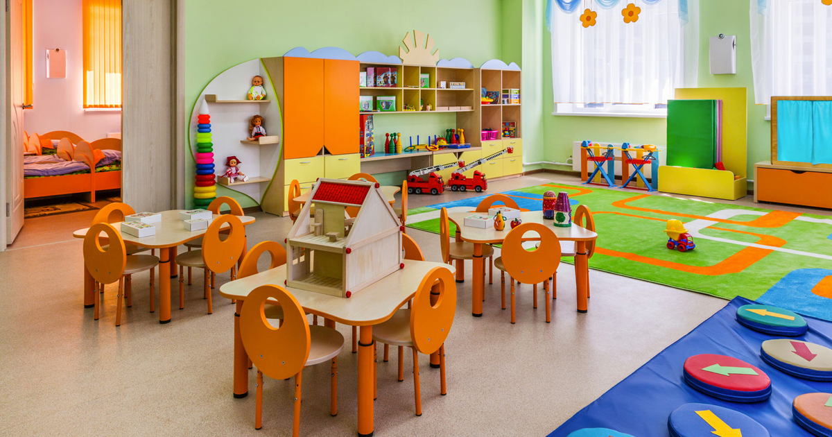 Tips para seleccionar un buen jard n infantil educrea for Decoracion jardin infantes