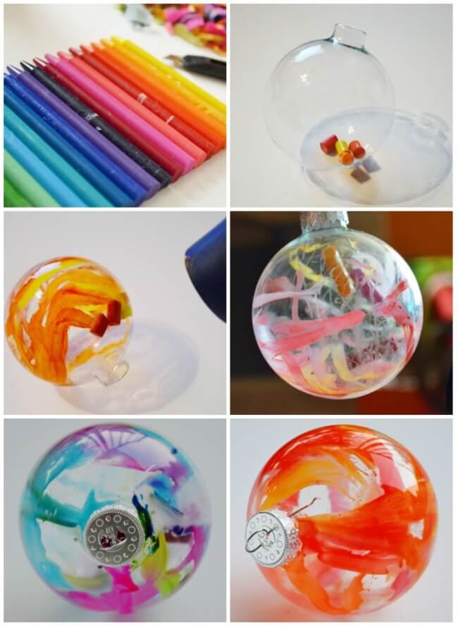 Esferas pintadas